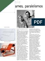 Aalto Eames Paralelismos