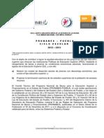 Convocatoria Becas PRONABES 2012 - 2013