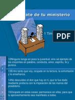 Ocupate de Tu Ministerio