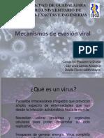 Expocisión_Mecanismos de evasión viral
