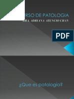 Introduccion a Patologia