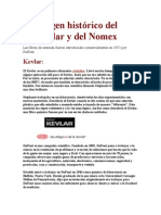 Origen histórico del Kevlar y del Nomex