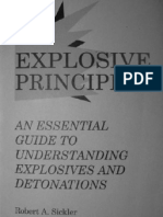 Explosive Principles - An Essential Guide to Understanding Explosives and Detonation