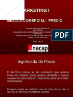 Marketing I Mezcla PRECIO