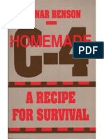 Homemade C4 - A Recipe for Survival