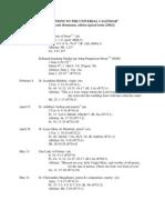 Roman Missal 3ed v2002-New Additional Saints to Universal Calendar