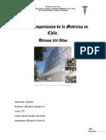 Aportes Importantes de La Medicina en Chile