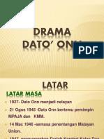 Antologi Drama(Dato'Onn)