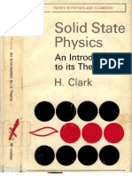 Clark SolidStatePhysics