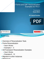 Ten New Personalizations oracle apps