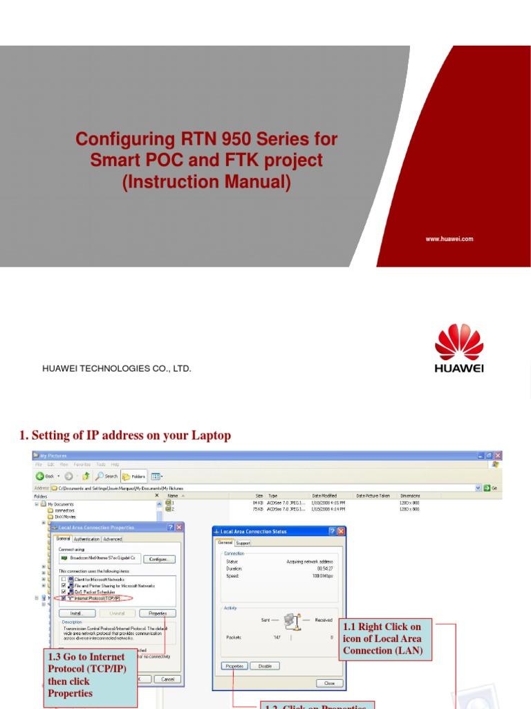 Manual Huawei Rtn 950 Sick Dt50 Laser Wiring Diagrams Array Instruction For Ip Address Internet Protocols Rh Fr Scribd