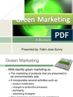 Green Marketing - The Business Imperative