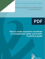 Guía para crear incentivos económicos en Seguridad