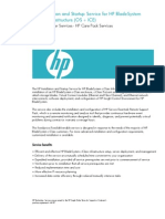 HP Installation and Startup Service for HP BladeSystem c Class Infrastructure