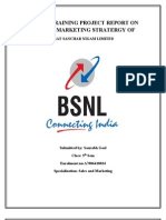 Bsnl Summer Training Project