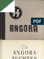 SS - Angora - Die Angora-Zuchten Des SS-Wirtschafts-Verwaltungshauptamtes (1944, 55 S., Scan)