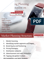 Marketing Strategies - Titan