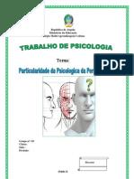 CAPA Particularidade de Psicologia