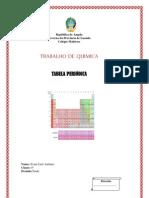 CAPA Tabela Periódica