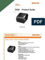 SLP-D420 Presentation en 2