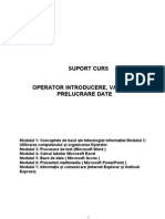 Suport Curs Operator Calculator