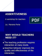 Assertive Behavior 2007830