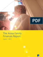 Aviva Family Finances Report 22 August 2012