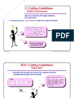 RTL Coding Hints