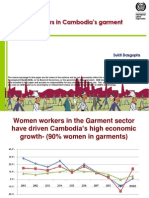 Women Workers in Cambodia's Garment Sector