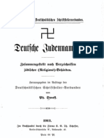 Stauff, Philipp - Deutsche Judennamen (1912, 68 S., Scan, Fraktur)