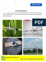 Razor Wire, Barbed Wire Catalog and Profile, Specification and Uses