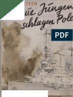 Steen, Hans - Blaue Jungen Schlagen Polen (1940, 75 S., Scan, Fraktur)
