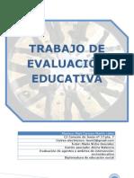 Mi Trabajo de Eva Luac i on Educativa