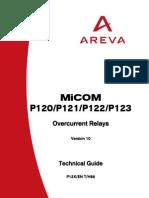 Micom P120 to P123 Version 10