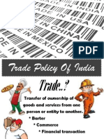 Trade Policy of India