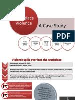 Work Place Violence - Ob