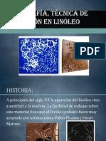 LINOGRAFÍA, Técnica de impresión en linóleo