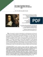 """""""'Cierto negro brasileño leproso' Un sueño político-filosófico de Spinoza"""" (IIº) Por Nicolás González Varela"""
