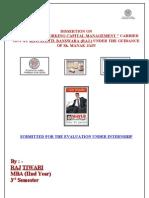 Analysis of Working Capital Management Sakshi Agarwal