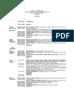 Programa de la VII Jornadas de Bibliotecología en el ISFDT N°182