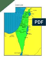 Historic Israel Map