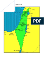 Historic Israel Map