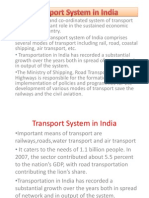 Transport System in India