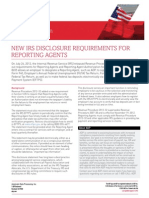 Eye on Washington- New IRS Disclosure Requirements for Reporting Agents