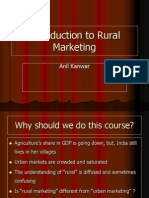 Rural Marketing by Anil