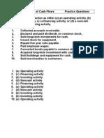 Chap 13 Statement of Cash FlowsPractice Questions