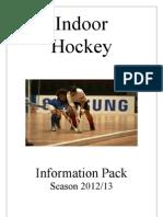 Indoor Hockey - Brisbane Info Pack
