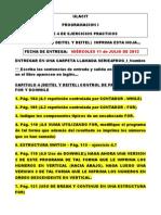 Serie 4 Programacion 1 Julio 2012