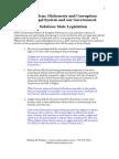 LawlessAmerica Government and Judicial Corruption reform state legislation Proposal[1]08222012