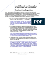 LawlessAmerica Government and Judicial Corruption reform state legislation Proposal[1]08222012